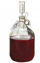 Бутель для вина з гідрозатворів 3.85 л