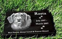 Памятник табличка для улюбленої собаки на могилу