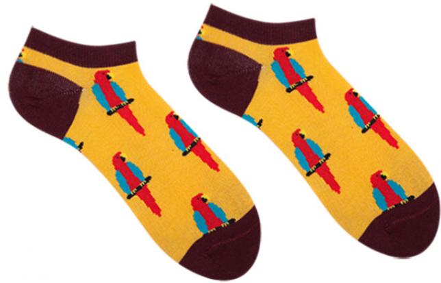 Носки женские короткие Sammy Icon Barcelona Short 36-40 Желтые