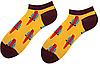 Носки женские короткие Sammy Icon Barcelona Short 36-40 Желтые, фото 2