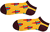 Носки женские короткие Sammy Icon Barcelona Short 36-40 Желтые, фото 3