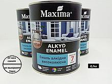 Эмаль алкидная высококачественная Maxima(белый матовый)