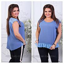 "Женская блузка ""764"" (48-54)  в розницу 604549 - Ines RN5044"