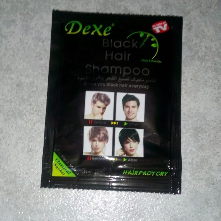 Шампунь для окрашивания седых волос ( чёрный) 1 уп.
