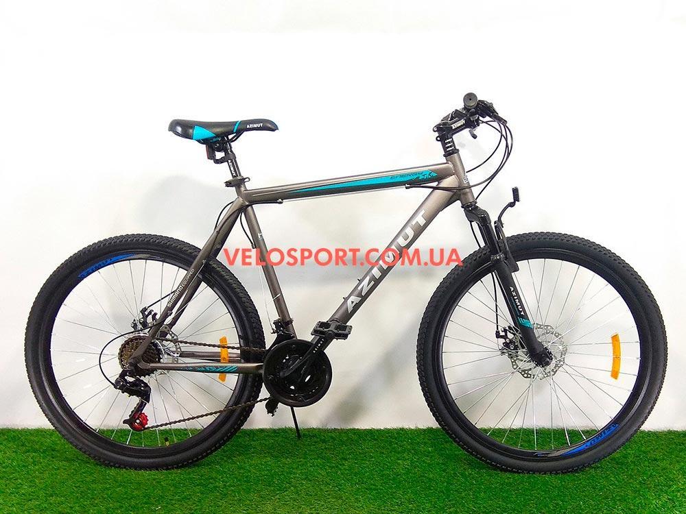 Горный велосипед Azimut Energy 26 GD серый