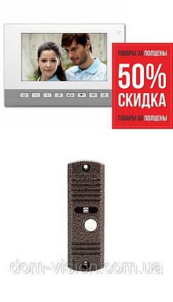"""Видеодомофон Infinitex mx575 (7"""") + панель, фото 2"""