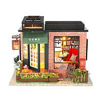 Hoomeda C008 DIY Кукла Дом Век Книжный магазин С Обложкой Музыка Движение Коллекция Подарков Декор Игрушки - 1TopShop