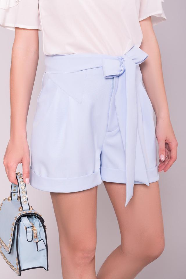 Фото Молодежных женских коротких шортов Камю-5