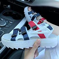 Женские сандалии\босоножки в стиле Fila Disruptor Sandals / 2 цвета в наличии