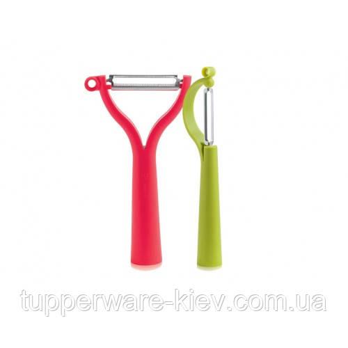 Набор высококачественных овощечисток: вертикальная и универсальная Tupperware идеальное лезвие