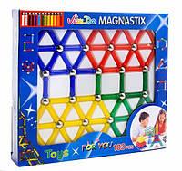 Магнитный конструктор 100 деталей.