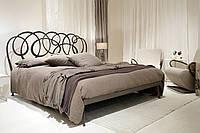 Кованая кровать DANIEL, двухспальная, черная. К2006.