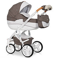 Детская коляска 2 в 1 Riko Brano Luxe 01 Mocca