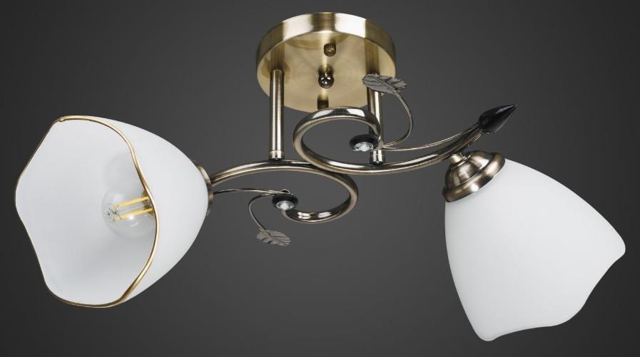 Люстра две лампы AR-004716 потолочная