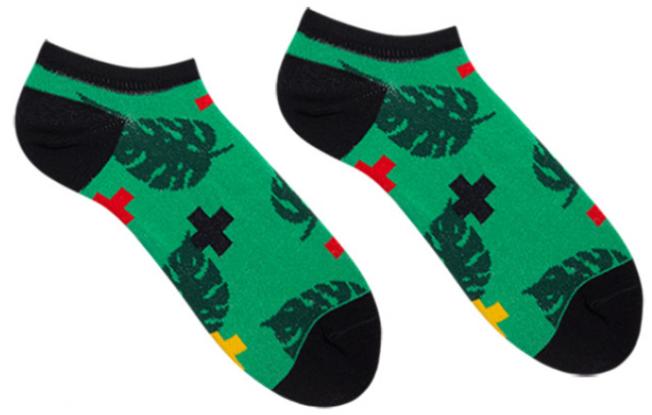 Носки короткие женские Sammy Icon Tropic Short 36-40 Зеленые