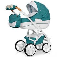 Детская коляска 2 в 1 Riko Brano Luxe 03 Malachit