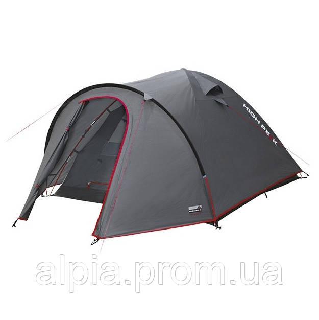 Четырехместная палатка High Peak Nevada 4 (Dark Grey/Red)