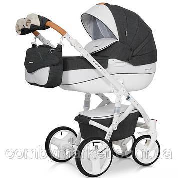 Детская коляска 2 в 1 Riko Brano Luxe 06 Antracite
