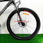 Горный велосипед Azimut Spark 26 GD черно-красный, фото 3