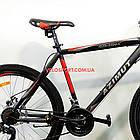 Горный велосипед Azimut Spark 26 GD черно-красный, фото 4