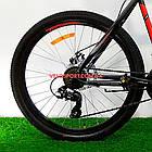 Горный велосипед Azimut Spark 26 GD черно-красный, фото 5