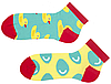 Женские носки с принтом короткие Sammy Icon Furphy short 36-40 Цветные, фото 3