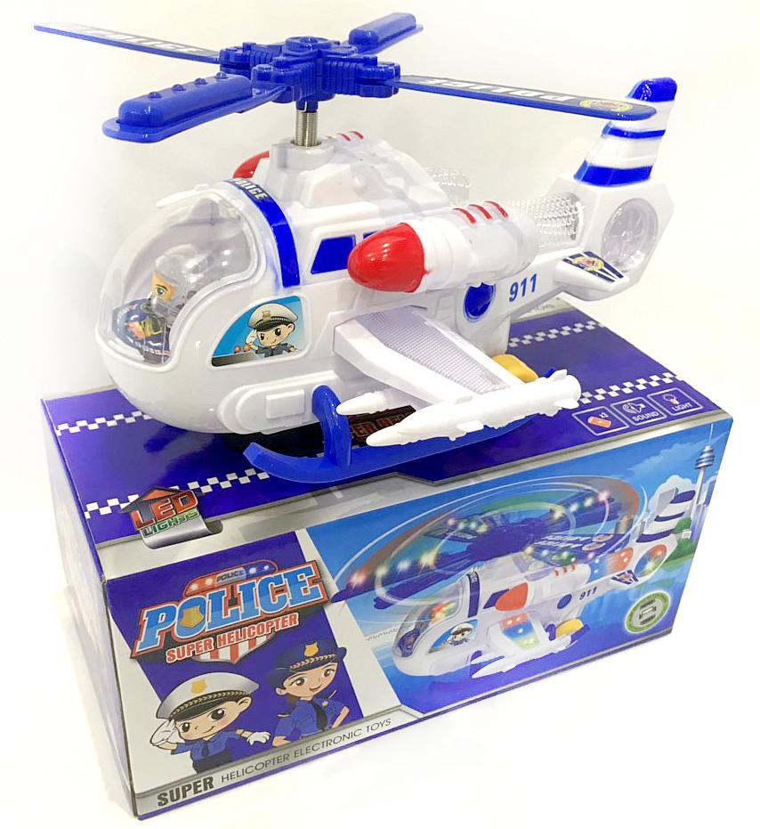 Детский  вертолет / музыка / свет