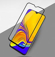 Защитное стекло 9D, 9H Полной оклейки для Samsung Galaxy A20 2019, Захисне скло