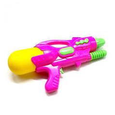 Водяной пистолет с накачкой (розовой) 760