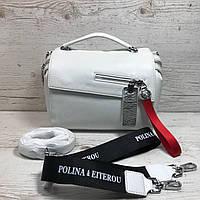 Женская кожаная сумкаPolina & Eiterou, фото 1