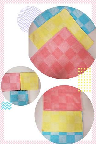 Полотенце-салфетка кухонное хлопковое 32*32 см (от 12 шт), фото 2