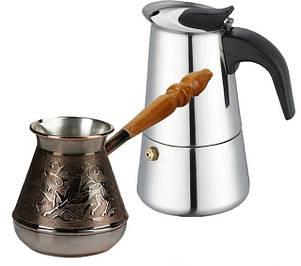 Турки, гейзерні кавоварки
