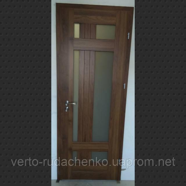 Двери Verto Лада-Лофт 4.1 цвет Орех медовый «Verto-CELL»