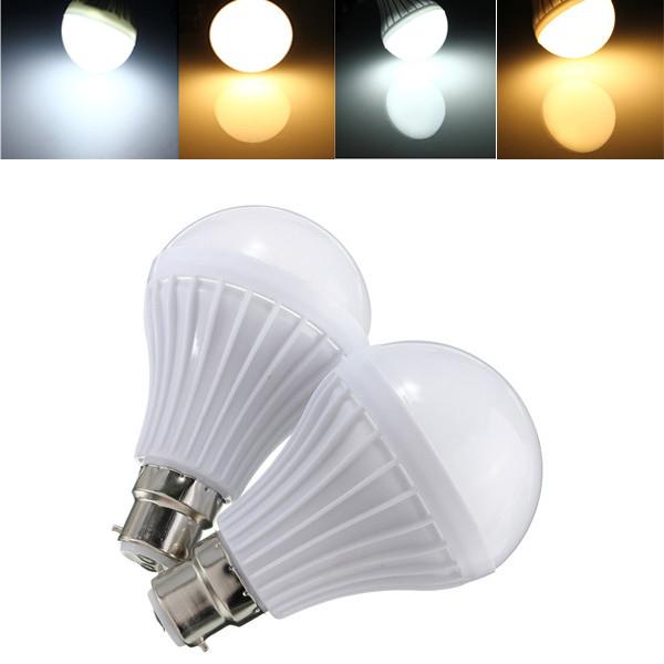 B22 5w 14 СМД 5630 теплый белый / белый шар шар лампы пластиковые лампа горит 220-240 - 1TopShop