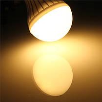 B22 5w 14 СМД 5630 теплый белый / белый шар шар лампы пластиковые лампа горит 220-240 - 1TopShop, фото 3