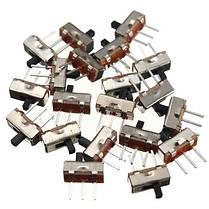 20шт SS12D00G3 2 Позиция SPDT 1P2T 3 Pin PCB Panel Мини-вертикальный переключатель слайдов - 1TopShop, фото 3
