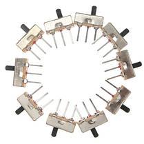 20шт SS12D00G3 2 Позиция SPDT 1P2T 3 Pin PCB Panel Мини-вертикальный переключатель слайдов - 1TopShop, фото 2