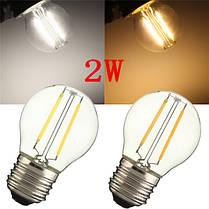 E27 G45 2W Теплый белый / белый нить Эдисона LED COB. затемняемый Лампа AC220V / 110V - 1TopShop, фото 3
