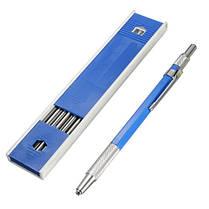 2.0 мм Держатель 2B свинца Металлический механический карандаш для рисования 12шт свинцов - 1TopShop, фото 3