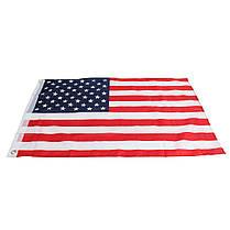 2 дюйма х 3 дюйма FT США США США США Американский флаг Полиэстер Звезды Латунная втулка мотоцикл - 1TopShop, фото 3