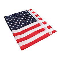 2 дюйма х 3 дюйма FT США США США США Американский флаг Полиэстер Звезды Латунная втулка мотоцикл - 1TopShop, фото 2