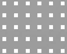 Перфорированный лист яч 5,0х5,0х1,0мм, h15vмм 1000*2000