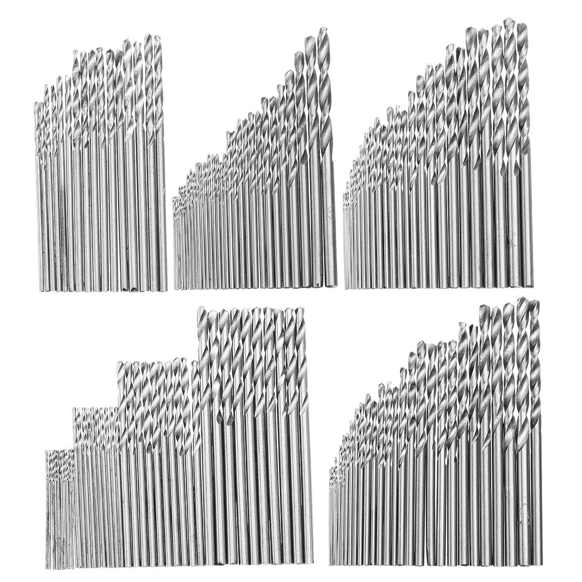 16/25/28/30 / 40Pcs Набор сверлильных сверл с метрической резьбой 0.5-3 мм - 1TopShop