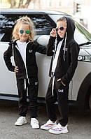 """Детский спортивный костюм """"EA7"""" , чёрный, меланж, карал, фото 1"""