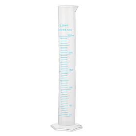 250мл Пластиковый мерный мерный цилиндр мензурка Трубка Колбы лабораторные Шкала - 1TopShop