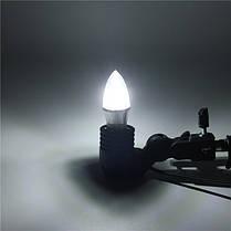 E27/e14/e12/b22/b15 3w LED теплая 85-265v лампа white/white15smd 2835 лампочки свечи - 1TopShop, фото 2