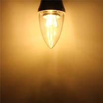 E27/e14/e12/b22/b15 3w LED теплая 85-265v лампа white/white15smd 2835 лампочки свечи - 1TopShop, фото 3