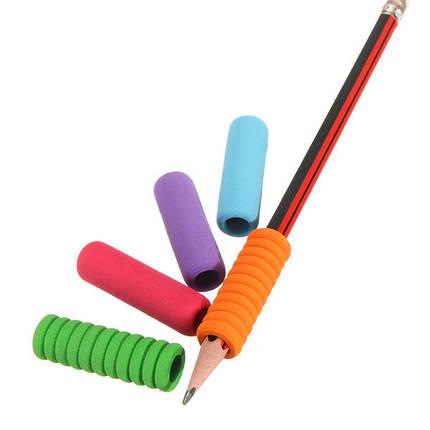 5pcs успокаивают мягкие власти почерка карандаша ручки пены для детского ученика школы - 1TopShop, фото 2