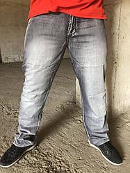 Джинсы мужские легкие больших размеров на высокий рост LONGLI