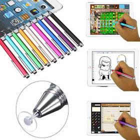 Тонкий точечный круглый тонкий наконечник емкостного стилуса Ручка для сотового телефона планшета - 1TopShop